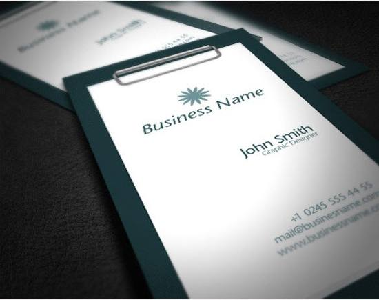 3 Creative Business Card Template Set PSD For Free Download
