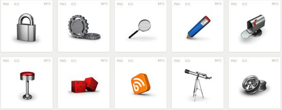 free Iconset! 3d Icons