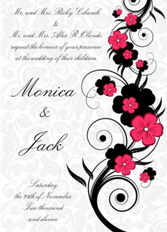 invitation card design, wedding invitation card design, holidays invitation card designs (18)