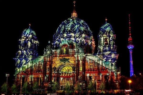 Berlin Cathedral Urban Photos
