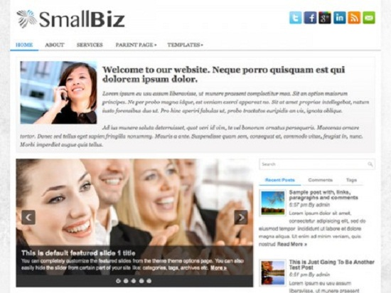 wp small business theme