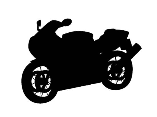 motor bike custom shapes