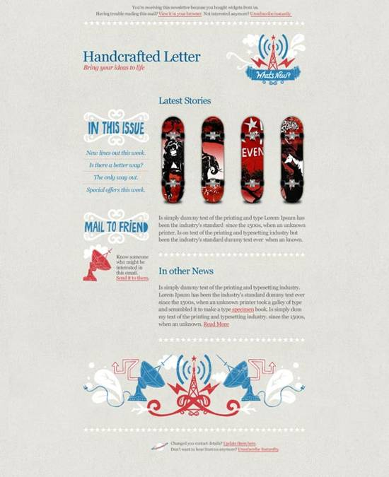 free news letter templates