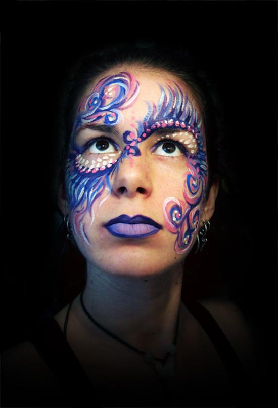 face painting angel