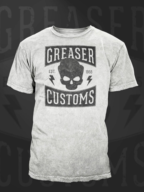Create a Vintage Style Greaser T-Shirt