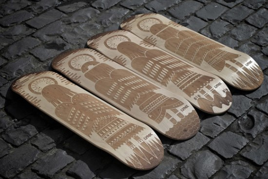 Lynx Excite Skateboard Decks