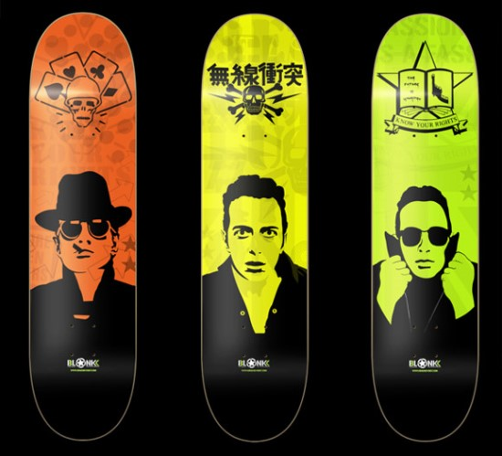 Strummer Limited Edition Decks