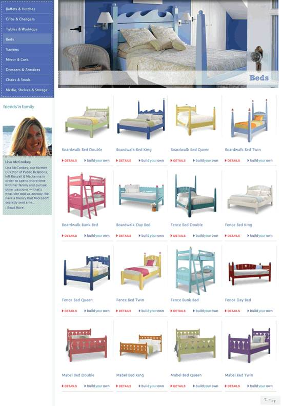 russell & mackenna gallery page design