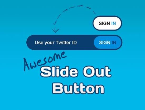CSS3 and jQuery Slide Out Button