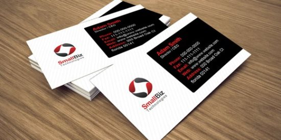 Free Clean Business Card Design