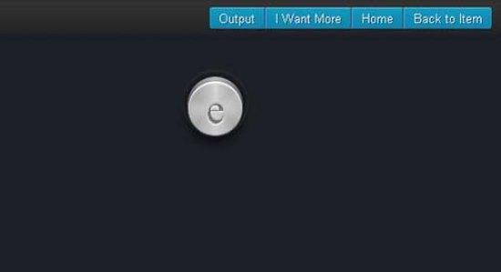 Metal Electric CSS3 Button