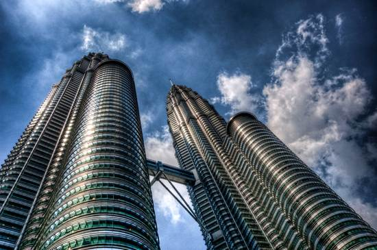 architecture twin towers