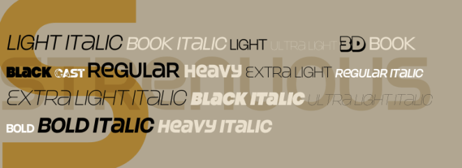 Strenuous - Free fonts