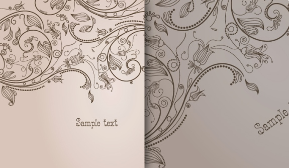 Free vector about floral vector illustrator template free download