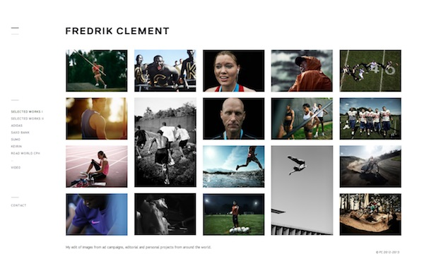 fredrikclement photography portfolio websites