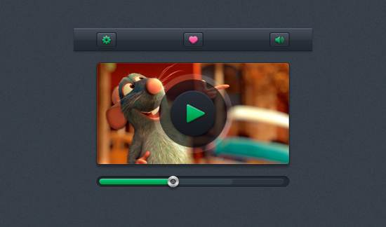 Video Player UI kit