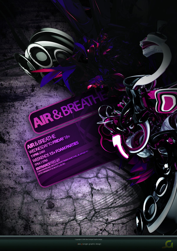 Air And Breathe Flyer