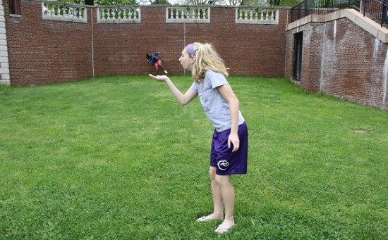 Shots of Forced Perspective Photography