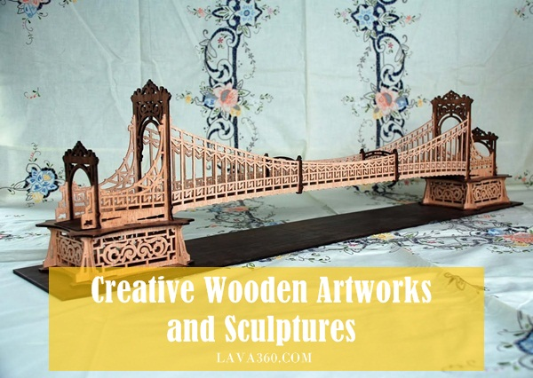 Creative Wooden Artworks and Sculptures1.1