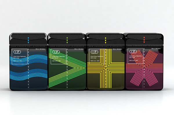 CEO Dish Soap Product Packaging Designs