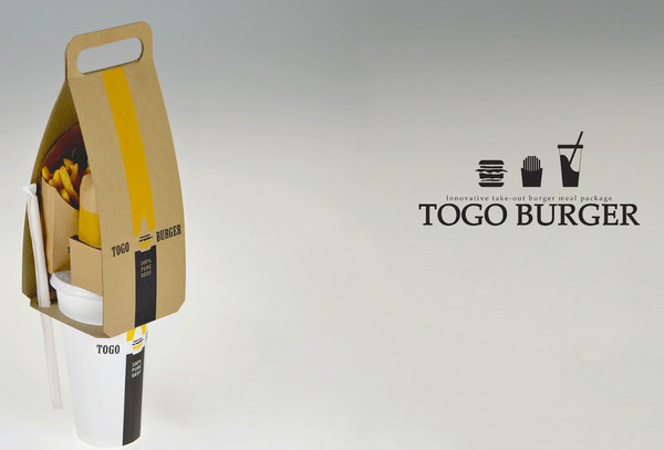TOGO BURGER Product Packaging Designs