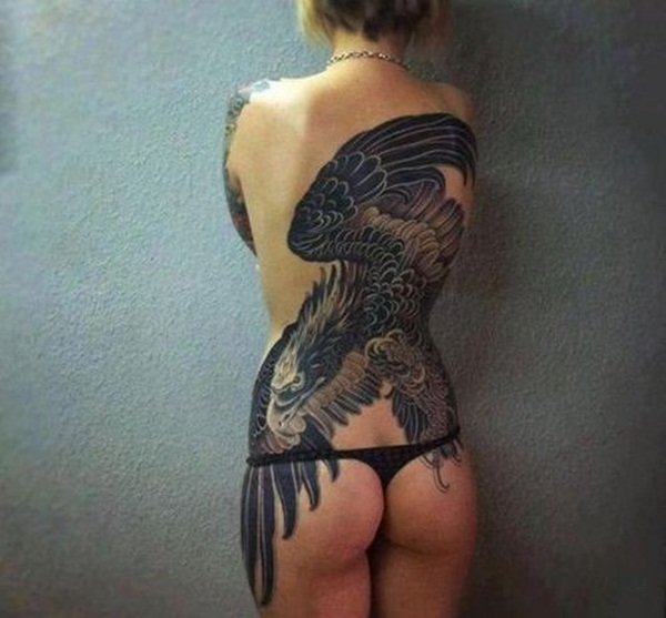 Eagle Tattoo Designs for Girls and Boys19