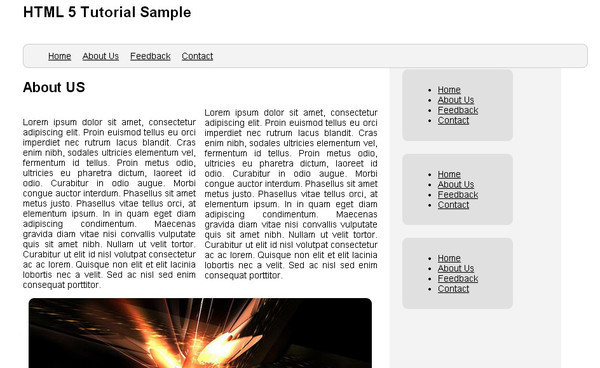 Simple Website Layout Tutorial Using HTML5 and CSS3
