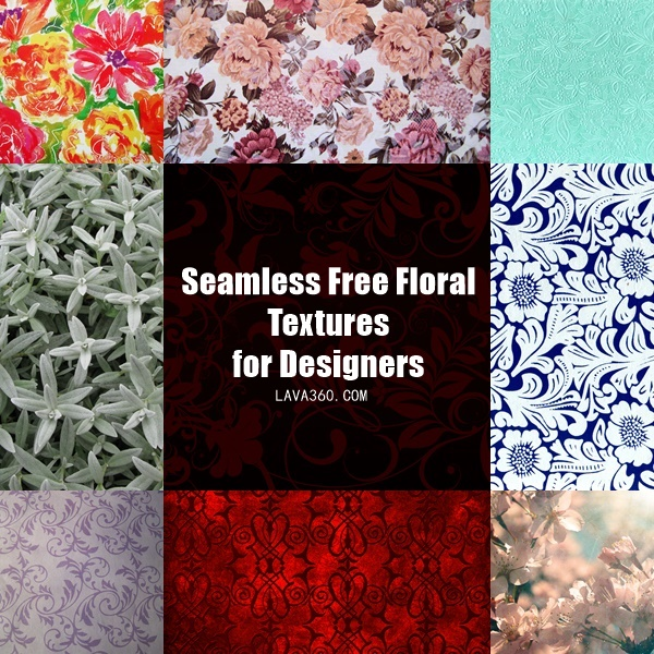 Seamless Free Floral Textures (1)