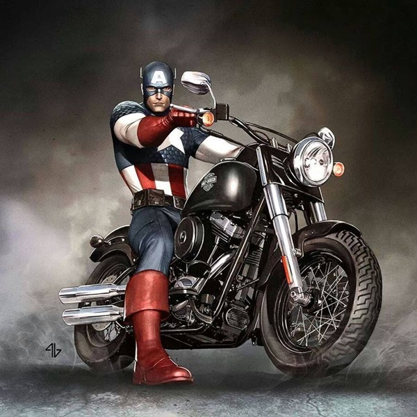 Captain America Fan Art and Illustrations16.1
