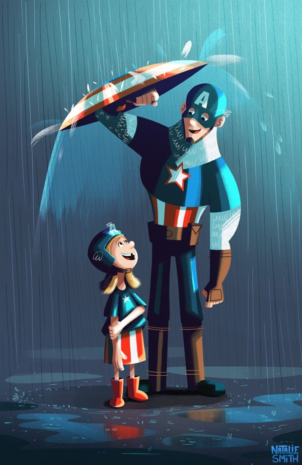 Captain America Fan Art and Illustrations4