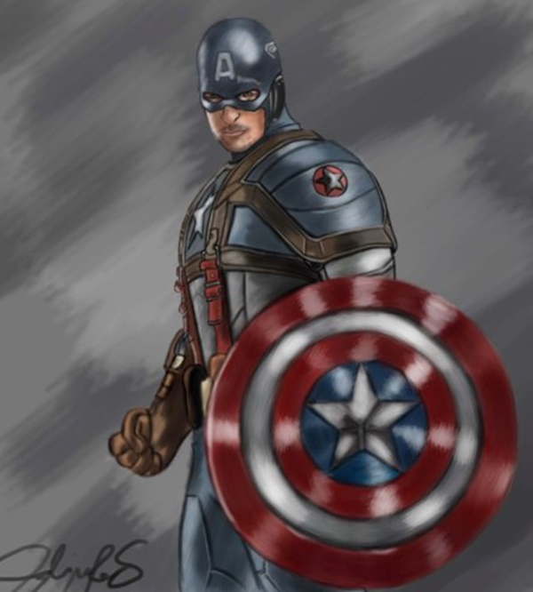 Captain America Fan Art and Illustrations7
