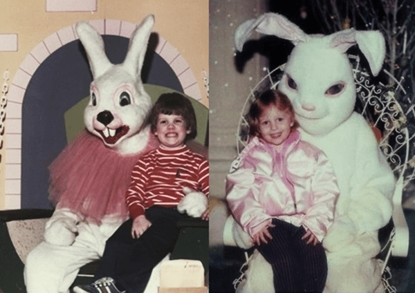 Scary Easter bunny photos and Images (1)