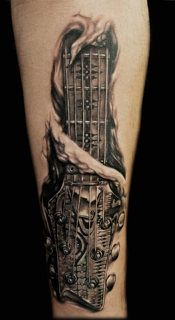 Music Tattoo Designs Half Sleeve: 50 Half Sleeve Tattoo Design For Men And Women