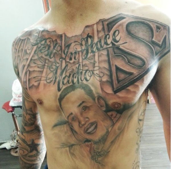 Catchy Chest Tattoo Designs for Men and Women (37)