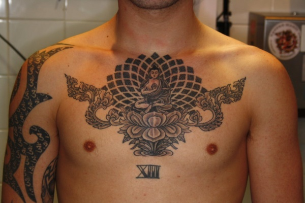 50 Catchy Chest Tattoo Designs For Men And Women