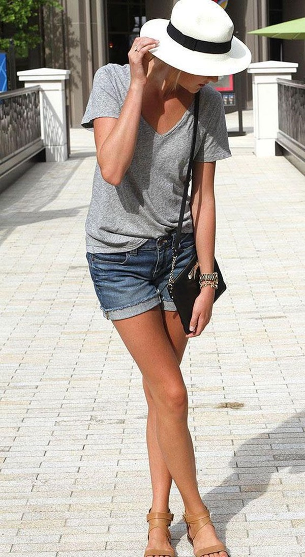 denim shorts outfits (13)