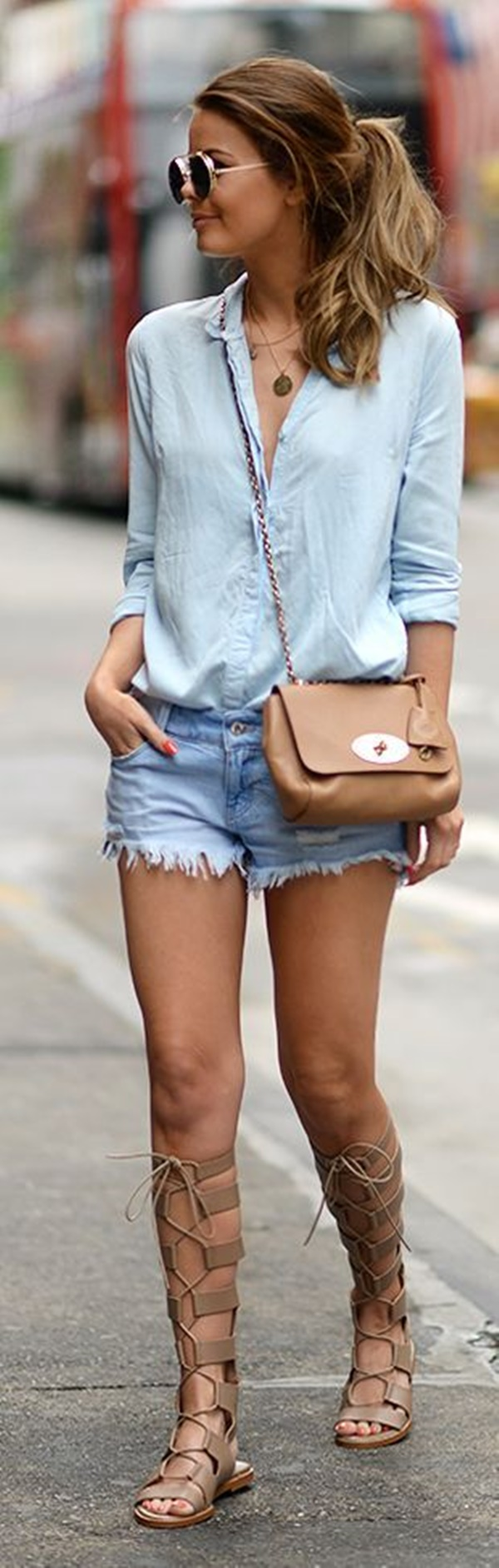 denim shorts outfits (7)