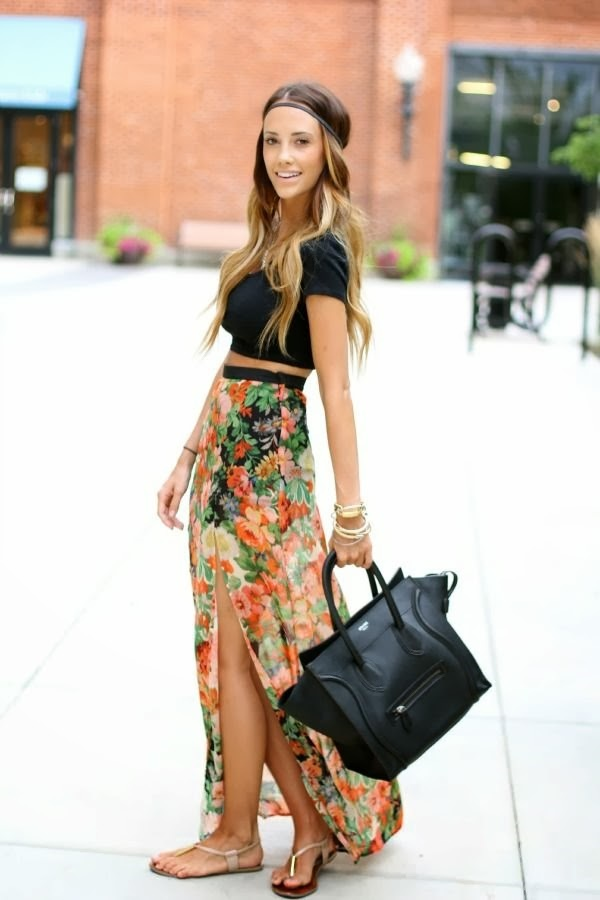 maxi skirt outfits (15)