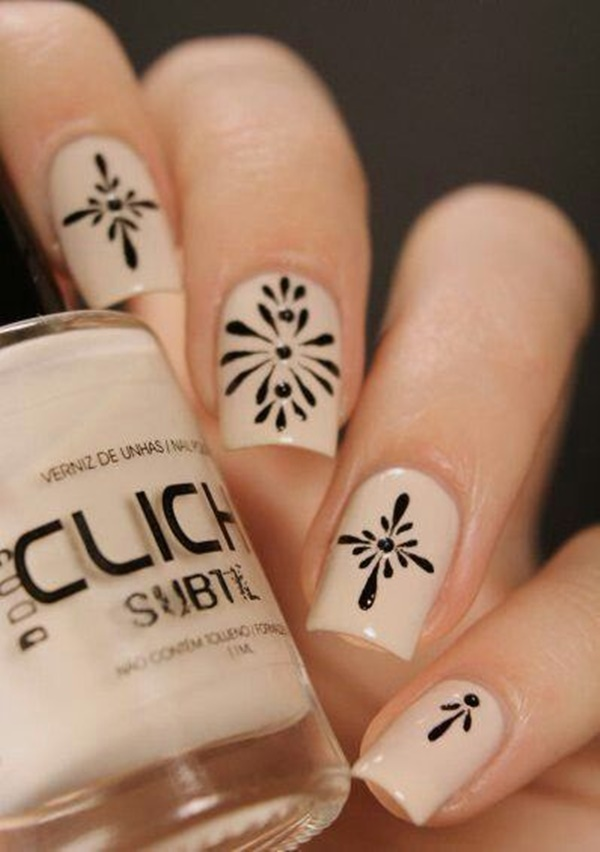 simple nail art designs (29)