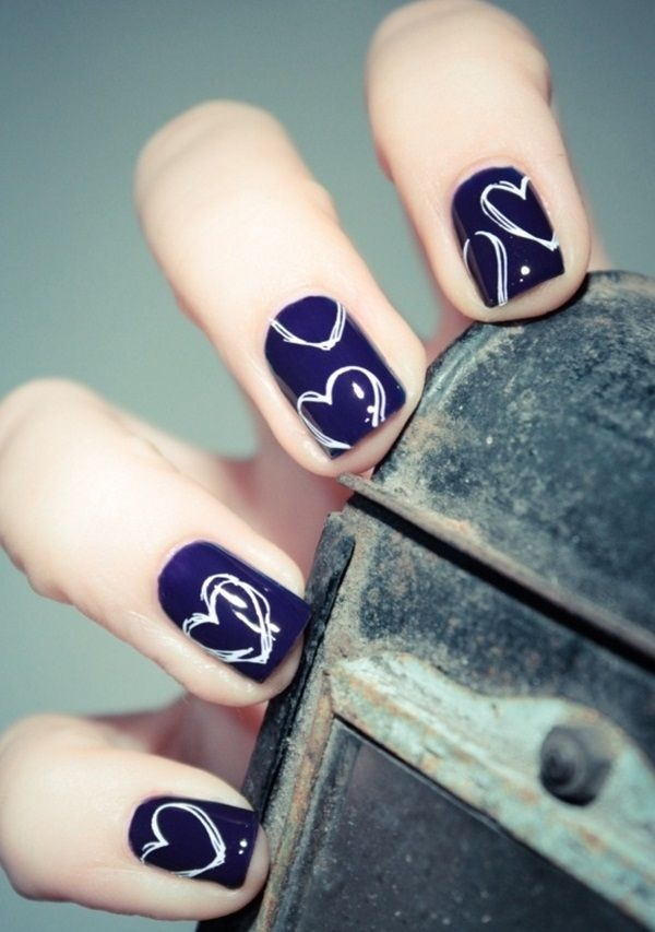 simple nail art designs (30)