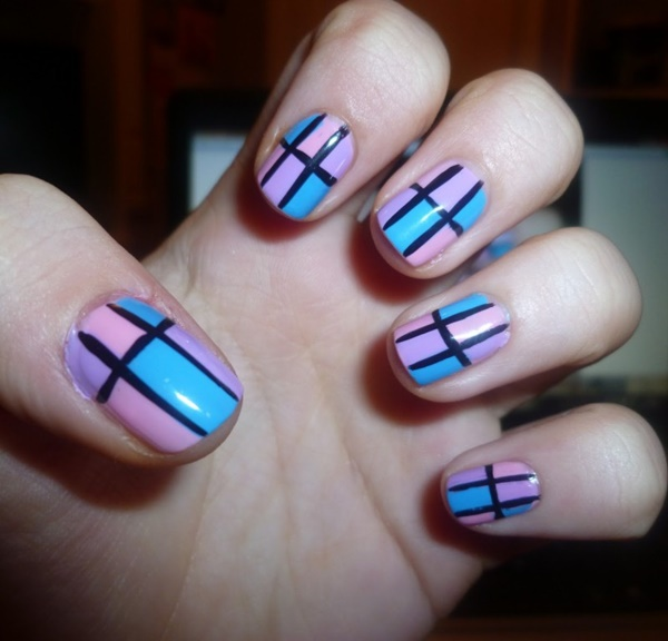 simple nail art designs (39)