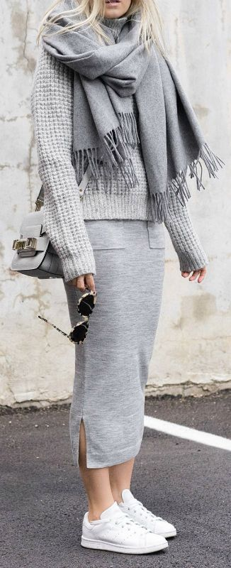 Ways To Wear Grey And Outfit Ideas