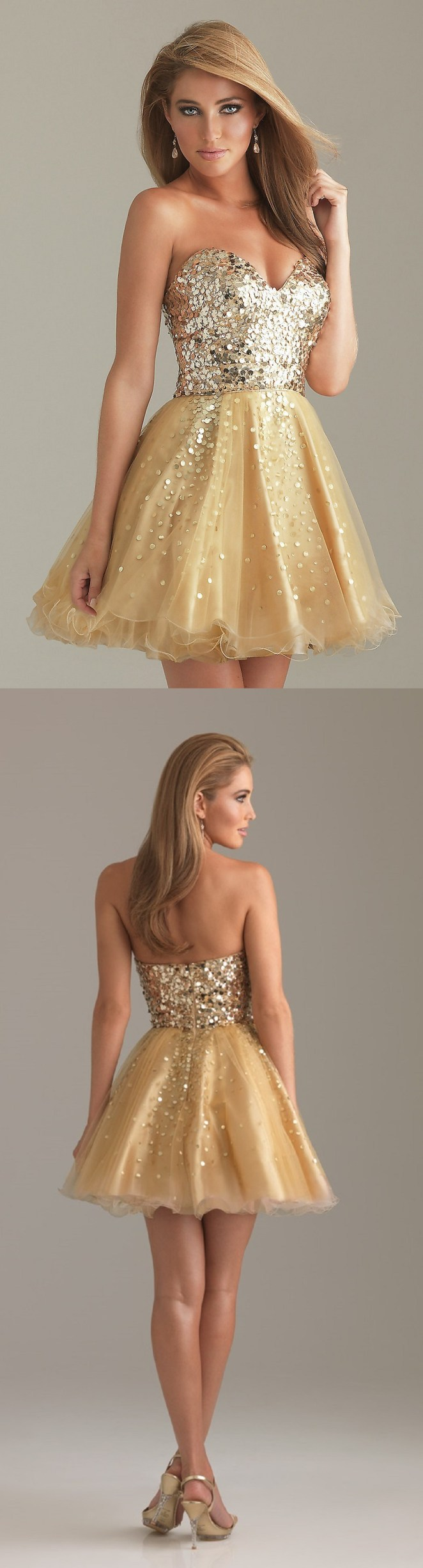 Mesmerizing Gold Dress for you all party girls1.10