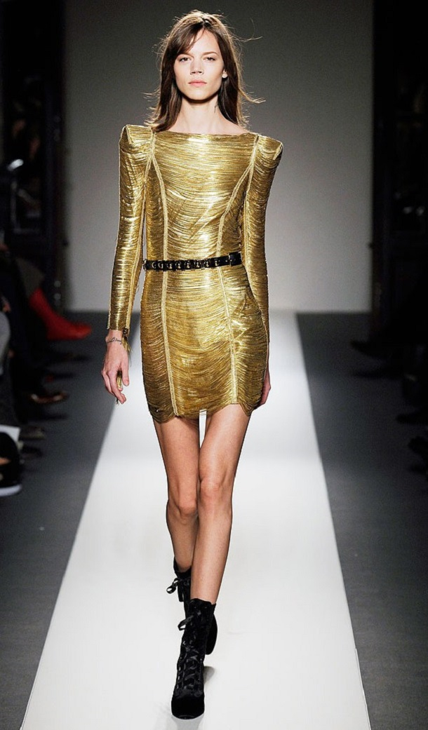 Mesmerizing Gold Dress for you all party girls1.5