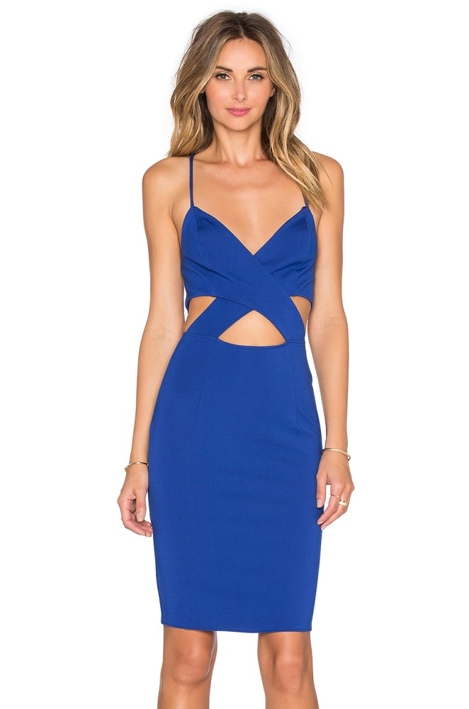 REVOLVE It cut out Bodycon Dress