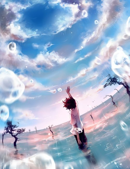 beautiful-anime-water-reflection-wallpaper-20