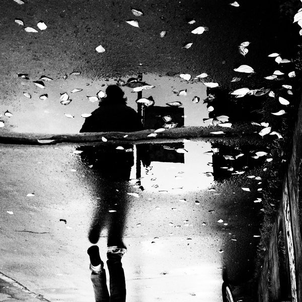 rain reflected photography-