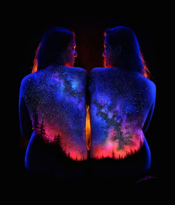 black light bodyscapes