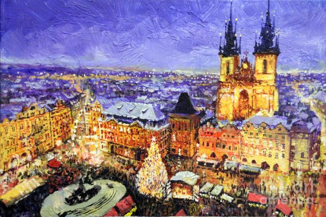 yuriy shevchuk cityscape and landscape paintings