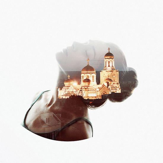 alon avissar aneta ivanova double exposure photos